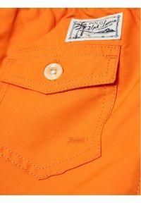 Polo Ralph Lauren Szorty kąpielowe Traveler Sho 323785582015 Pomarańczowy Regular Fit. Kolor: pomarańczowy