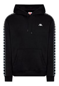 Kappa Bluza Igon 309043 Czarny Regular Fit. Kolor: czarny
