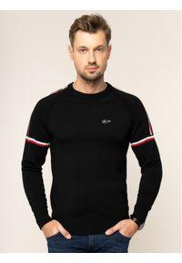 Czarny sweter klasyczny TOMMY HILFIGER