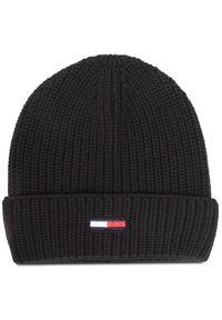 Czarna czapka zimowa Tommy Jeans