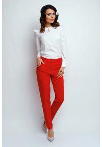 Czerwone spodnie Nommo klasyczne