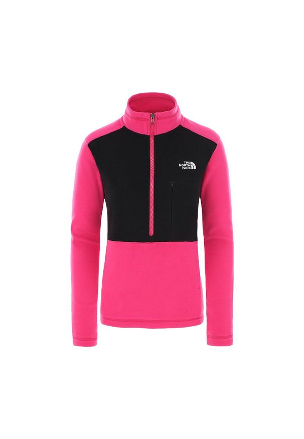 Różowa bluza The North Face klasyczna, na spacer