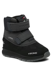 Czarne śniegowce Viking