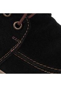 Łukbut - Botki ŁUKBUT - 16920 Czarny. Kolor: czarny. Materiał: skóra, nubuk, zamsz, materiał. Szerokość cholewki: normalna. Sezon: zima, jesień. Styl: elegancki