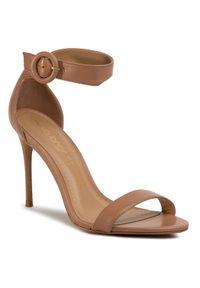 Brązowe sandały Eva Longoria