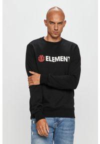 Czarna bluza nierozpinana Element bez kaptura, casualowa