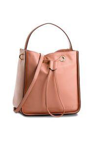 Różowa torebka klasyczna Kazar na lato