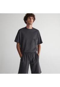 Reserved - Piżama dwuczęściowa - Szary. Kolor: szary