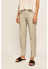 Wielokolorowe spodnie materiałowe Pepe Jeans na co dzień, casualowe