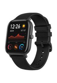 Czarny zegarek Xiaomi smartwatch #3