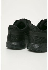 Czarne buty sportowe Under Armour do biegania, z cholewką, na sznurówki #5