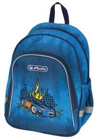Herlitz plecak Wyścigówka. Kolor: niebieski