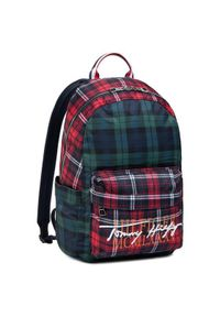 Czerwony plecak TOMMY HILFIGER