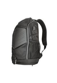 Czarny plecak na laptopa TRUST casualowy