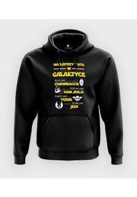 MegaKoszulki - Bluza z kapturem Najlepszy tata w całej galaktyce. Typ kołnierza: kaptur