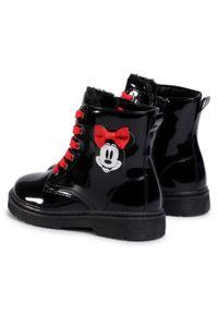 Czarne kozaki Mickey&Friends z cholewką