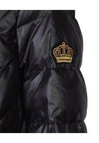 CATERINA - Czarna kurtka pikowana. Kolor: czarny. Materiał: puch