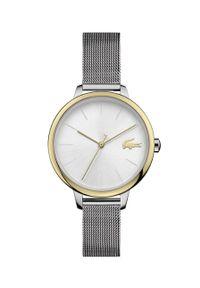 Lacoste - Zegarek 2001127. Kolor: srebrny. Materiał: materiał