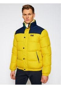 Tommy Jeans Kurtka puchowa Corp DM0DM09379 Żółty Regular Fit. Kolor: żółty. Materiał: puch