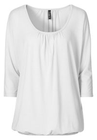 """Shirt """"oversize"""" bonprix biały. Kolor: biały"""