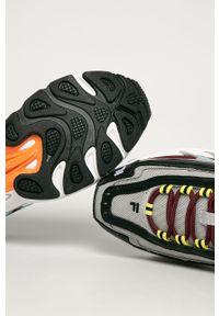 Wielokolorowe sneakersy Fila z cholewką, z okrągłym noskiem, na sznurówki