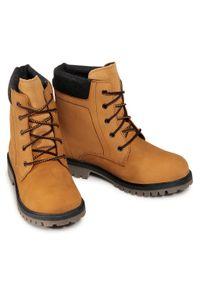 Brązowe buty zimowe Kamik