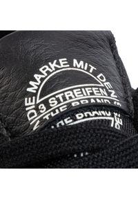 Adidas - Buty adidas - Supercourt EE6038 Cblack/Cblack/Ftwwht. Zapięcie: pasek. Kolor: czarny. Materiał: skóra. Szerokość cholewki: normalna. Wzór: gładki, paski. Sezon: lato. Styl: klasyczny. Sport: tenis