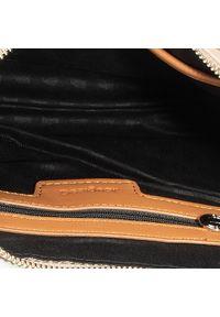 Desigual - Torebka DESIGUAL - 20SAXPAD 1002. Kolor: brązowy. Materiał: skórzane. Styl: elegancki