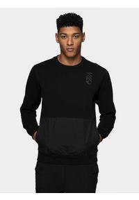 Czarna bluza nierozpinana 4f