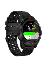 Czarny zegarek Bemi smartwatch