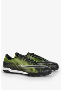 Casu - Czarne buty sportowe orliki sznurowane casu 21m4/m. Kolor: czarny