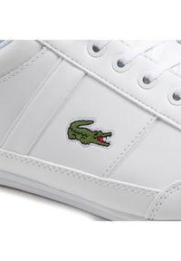 Lacoste Sneakersy Chaymon BL21 Cma 7-41CMA003821G Biały. Kolor: biały