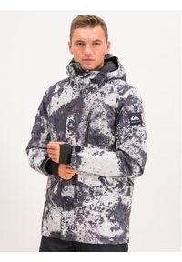 Quiksilver Kurtka snowboardowa Mission EQYTJ03230 Szary Modern Fit. Kolor: szary. Sport: snowboard