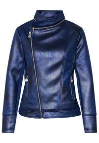 Desigual Kurtka przejściowa Carnaby 21SWEW05 Granatowy Regular Fit. Kolor: niebieski #4