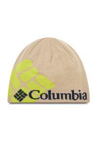 columbia - Czapka COLUMBIA - Heat Beanie 1472301 271. Kolor: beżowy. Materiał: akryl, materiał