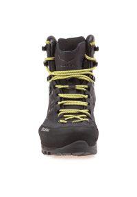 Buty męskie trekkingowe Salewa MS Rapace GTX 61332. Zapięcie: sznurówki. Materiał: nubuk, skóra, guma. Szerokość cholewki: normalna. Technologia: Gore-Tex. Sport: wspinaczka