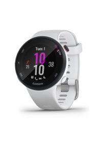 Biały zegarek GARMIN sportowy
