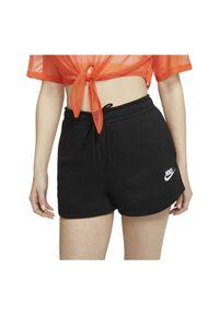 Spodenki damskie Nike Sportswear CJ2158. Materiał: bawełna, materiał, poliester. Sport: fitness