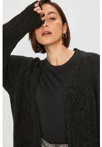 Szary sweter rozpinany Answear Lab raglanowy rękaw, wakacyjny