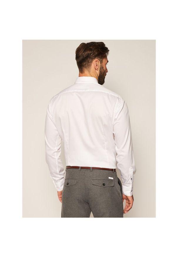Biała koszula Karl Lagerfeld z dekoltem karo