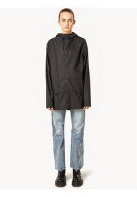 Rains Kurtka przeciwdeszczowa Unisex 1201 Czarny Regular Fit. Kolor: czarny #4