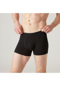 NYAMBA - Spodenki fitness. Kolor: czarny. Materiał: poliester, elastan, bawełna, materiał. Sport: fitness
