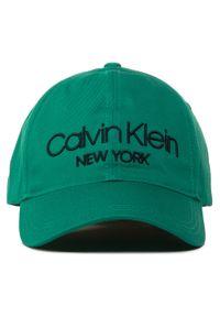 Zielona czapka Calvin Klein