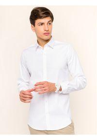 Biała koszula biznesowa Lacoste