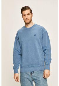 Levi's® - Levi's - Bluza. Okazja: na spotkanie biznesowe, na co dzień. Kolor: niebieski. Materiał: dzianina. Styl: casual, biznesowy
