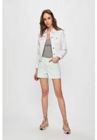Biała kurtka Vero Moda casualowa, na co dzień