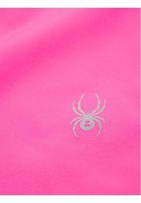 Różowe spodnie narciarskie Spyder