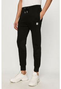 Czarne spodnie dresowe Diesel