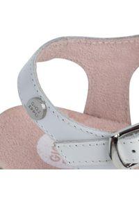 Białe sandały Gioseppo casualowe, na co dzień