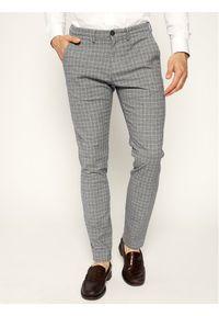 Baldessarini Spodnie materiałowe Jorck 16836/000/2297 Szary Slim Fit. Kolor: szary. Materiał: elastan, bawełna, materiał #1